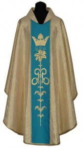 Chasuble marial (id: 152)