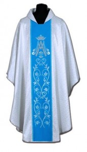 Chasuble marial (id: 150)