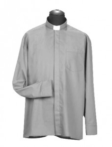 Chemise clergyman, manches longues (id: 719)