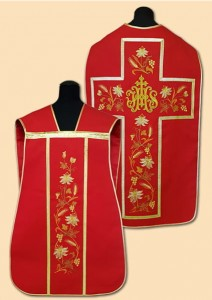 Chasubles romains brodée. (id: 772)